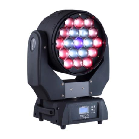 Beam Wash 19E - 19x15w RGBW LEDs, Beam Wash 2-in-1